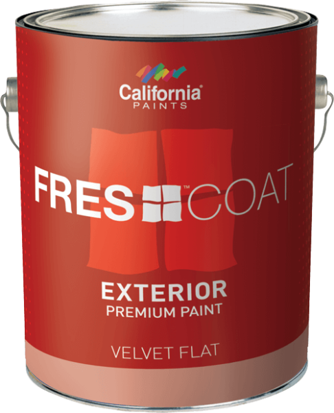 From California Paints We Carry Fres Coat 100% Acrylic Latex. Fres Coat Is  A Top Rated Paint That Is Durable, Easy To Apply And When Tinted With  California ...